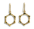 "Handbell Earrings - ""Circle of Bells"" GV"