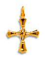 Medium Handbell Cross - GV