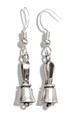 English Handbell Earrings