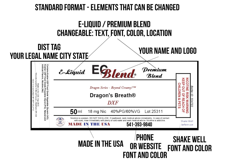 private label white label design and customization for e liquid labels. Black Bedroom Furniture Sets. Home Design Ideas