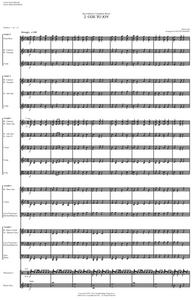Sample first page of Score