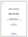 Ode to Joy Brass Quartet (Beethoven/Thomas)