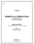 A Spiritual Christmas Brass Quartet (Various/Thomas)