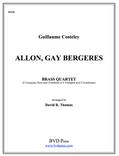 Allon Gay Bergeres Brass Quartet (Costeley/Thomas)