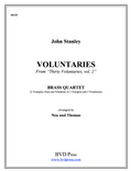 9 Voluntaries Brass Quartet (Stanley/Thomas & Neu)