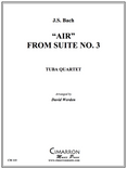 Air from Suite No. 3 Tuba Quartet (EETT) (J.S. Bach/  arr. Werden)