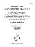 6 CHRISTMAS QUARTETS (TRAD. / ARR. HILFIGER) PDF Download