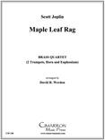 Maple Leaf Rag Brass Quartet (Joplin/Werden)