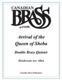Arrival of the Queen of Sheba Double Brass Quintet (Handel/Allen)