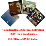 Canadian Brass Classical CD Collection (4 CDs)