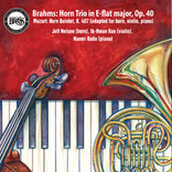 Brahms: Horn Trio in E-flat major, Op.40 CD