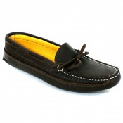 Womens Deerskin Lined Triple Sole Canoe Moc