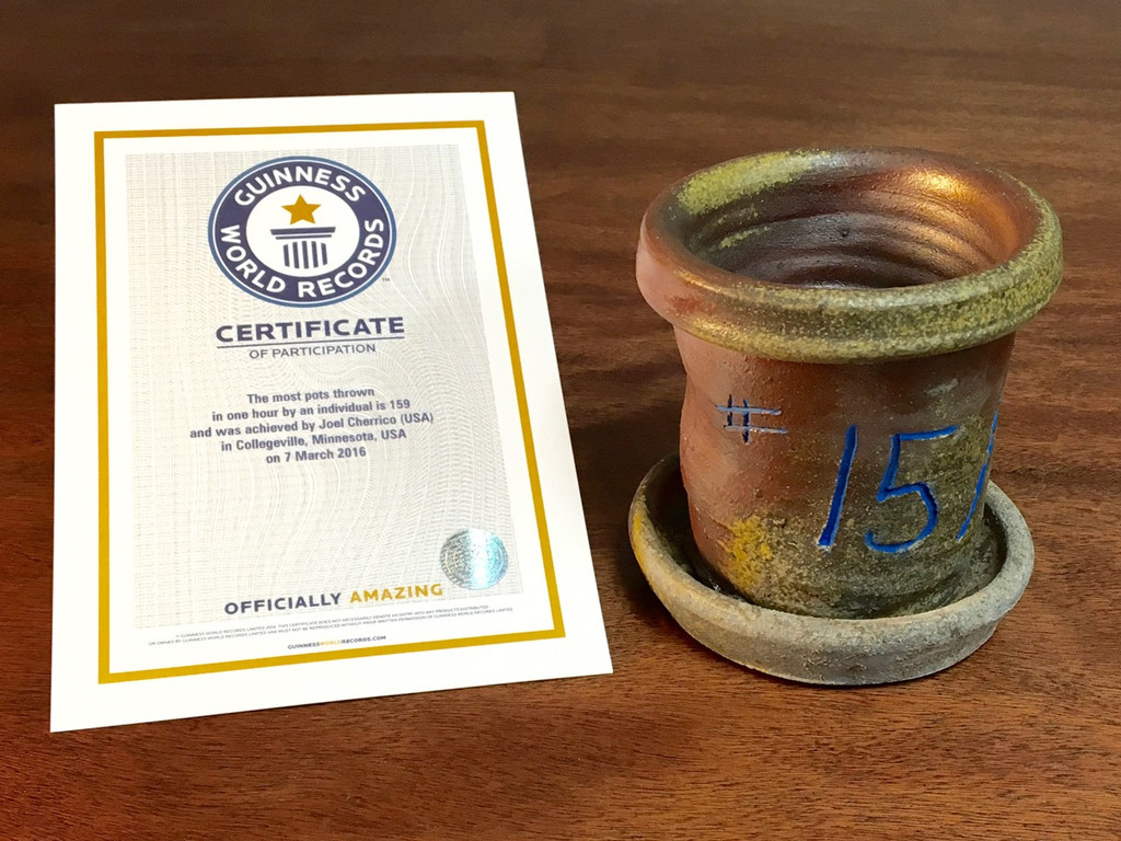 World Record Planter #15/159 and Certificate of Authenticity