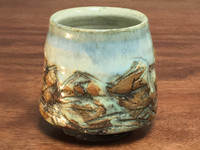 Mountain Cup, roughly 10 Ounce Size (E109)