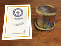 World Record Planter #11/159 and Certificate of Authenticity