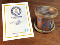 World Record Planter #32/159 and Certificate of Authenticity