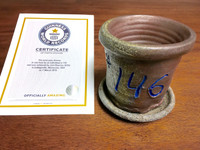 World Record Planter #146/159 and Certificate of Authenticity