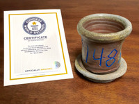 World Record Planter #148/159 and Certificate of Authenticity