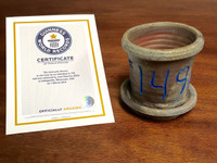 World Record Planter #149/159 and Certificate of Authenticity