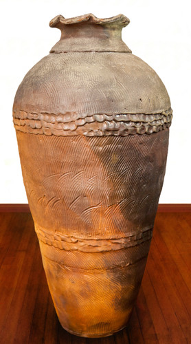 Woodfired Jar, Roughly 32 Inches Tall by 16 Inches Wide: $8,995