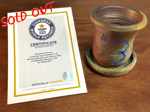 World Record Planter #3/159 and Certificate of Authenticity