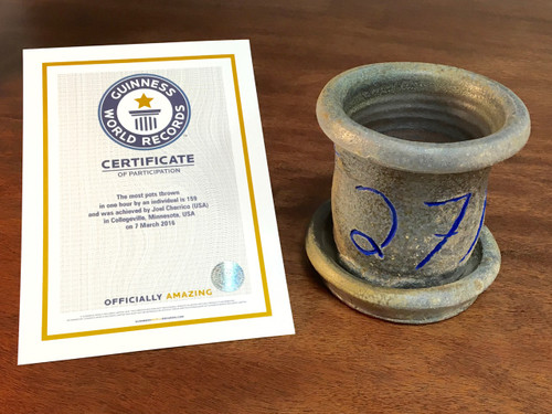 World Record Planter #27/159 and Certificate of Authenticity