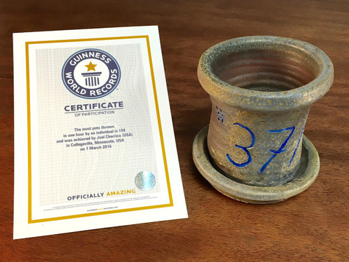World Record Planter #37/159 and Certificate of Authenticity