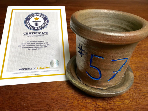 World Record Planter #57/159 and Certificate of Authenticity