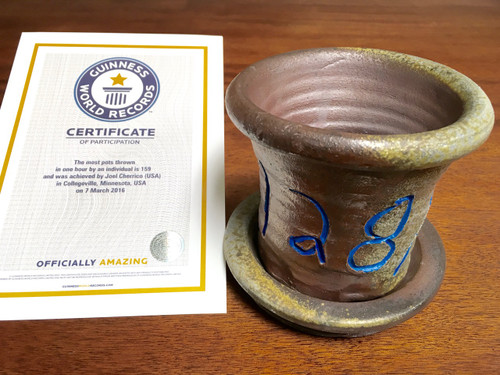World Record Planter #128/159 and Certificate of Authenticity