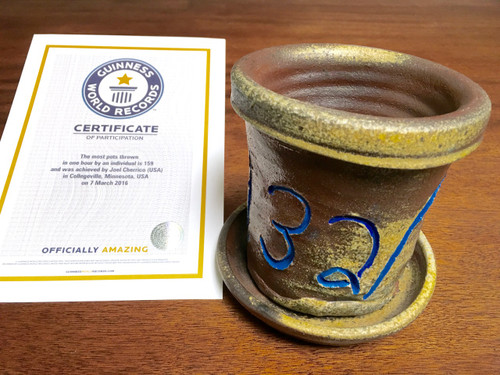 World Record Planter #132/159 and Certificate of Authenticity