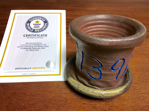 World Record Planter #139/159 and Certificate of Authenticity