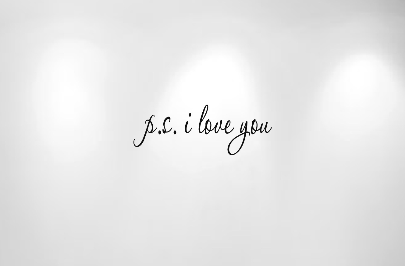 I Love You Quotes Ps I Love You Quote Decal 1166  Innovativestencils
