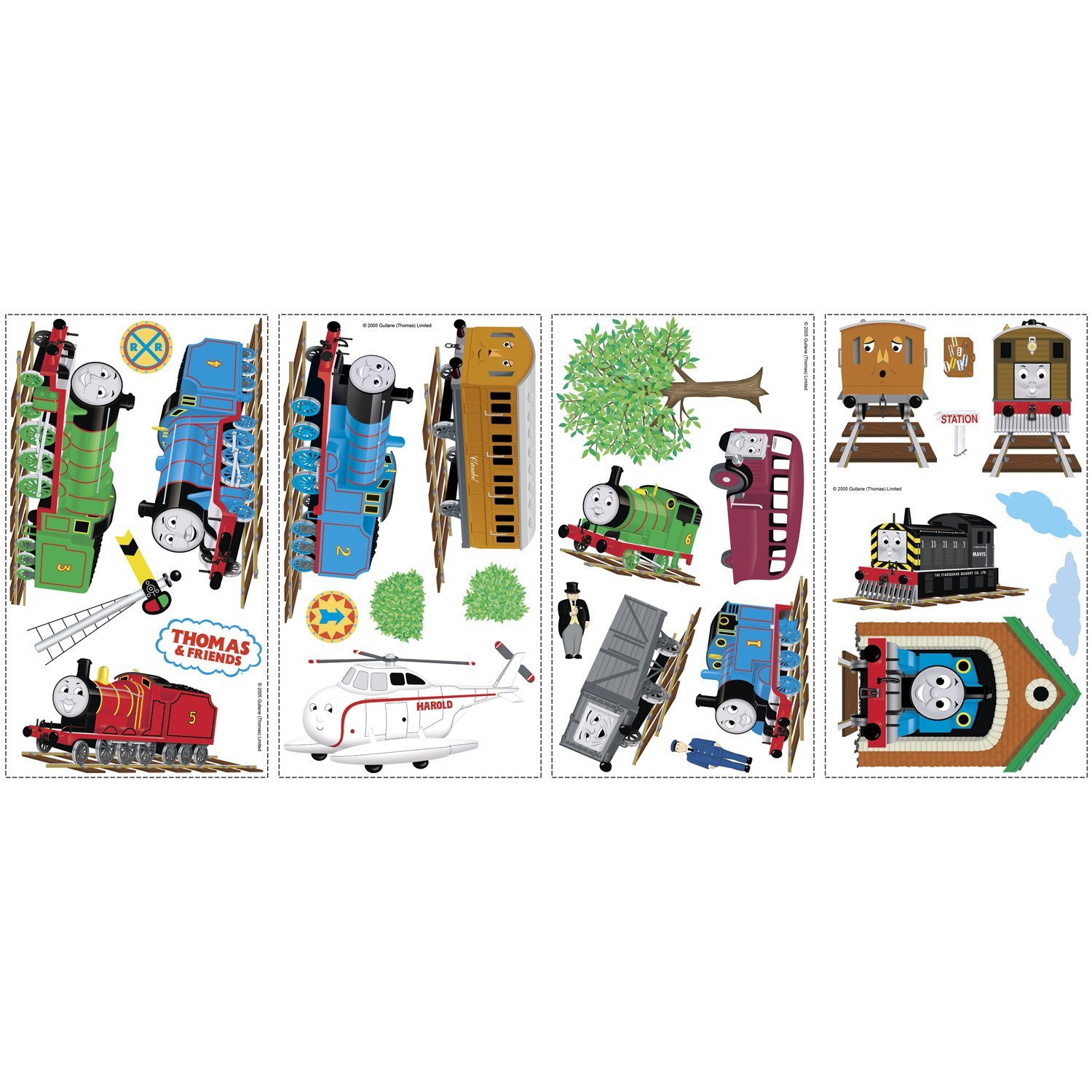 Thomas The Train Wall Decals Layout Part 44