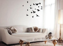 Flock of Birds Wall Decal #1169