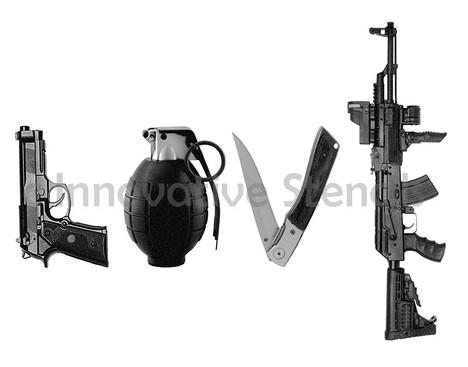 weapons guns love