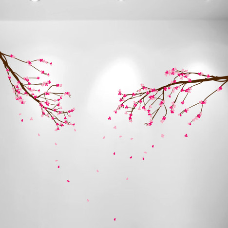 Large wall nursery tree branch baby decal cherry blossom flowers large wall nursery tree branch baby decal cherry blossom flowers 1281 mightylinksfo