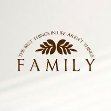 The Best Things In Life Aren't Things ... Family Home Wall Decal Sticker Inspiration Quote Saying #1358