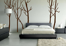 Large Wall Tree Decal Forest Kids Vinyl Sticker Removable #1115