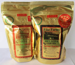 Fike Farms Extra Fancy Sampler - Includes one 1/2 lb. Extra Fancy Medium Roast and one 1/2 lb. Extra Fancy Dark Roast
