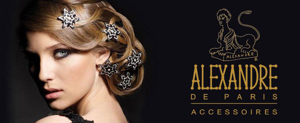 Alexandre De Paris Luxury Hair Accessories Handmade In