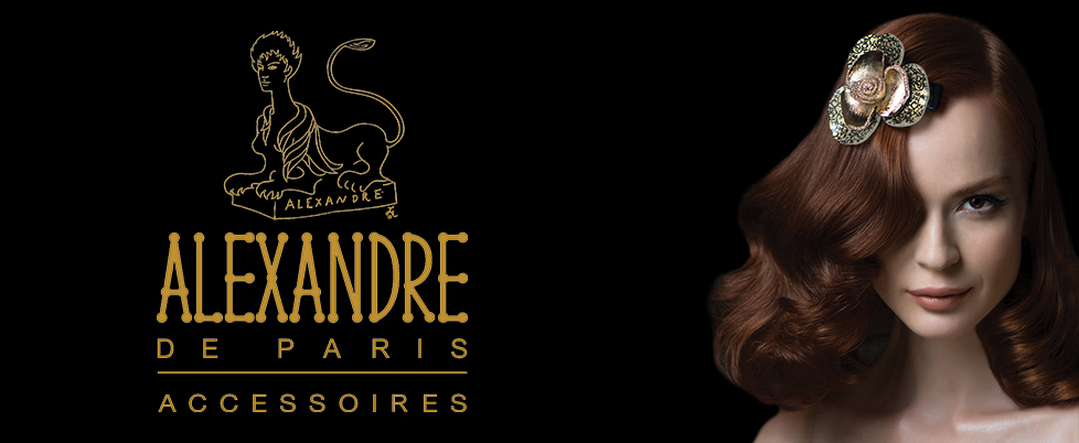 Alexandre De Paris Luxury Hair Accessories Handmade In