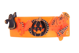 HALLOWEEN HAIR CLIP BARRETTE LARGE 15845O