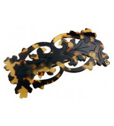 BARRETTE BAROQUE MEDIUM OPENWORK AA8-1165W.