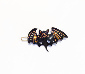 HALLOWEEN BAT WITH CRYSTALS # 15840N