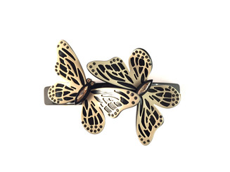 LARGE BARRETTE BUTTERFLIES AQCH-16708-06Y
