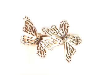 BARRETTE LARGE BUTTERFLIES AQCH-16708-06S