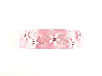 """BARRETTE LARGE CURVED """"ANTISPEEN"""" AQCH-16675-02Q"""