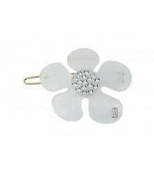 BARRETTE BALLPOINT ATB-1148-08P FLOWER STRASS
