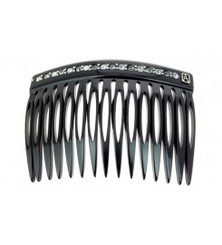 SIDECOMB WITH CRYSTALS ASC-386-15-105BSN