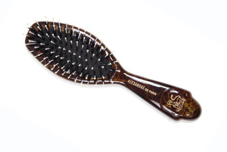 Hair Brush Small Wild Boar Bristles combination ball tips  NBRS-50043H.